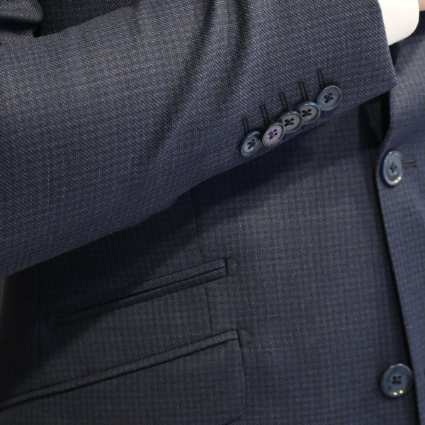WITHOUT PREJUDICE SUIT RANDOLPH CHECK NAVY1