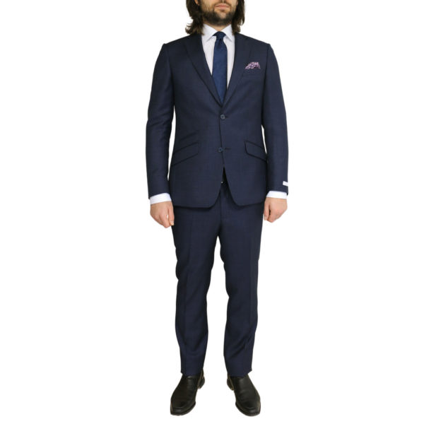 WITHOUT PREJUDICE SUIT RANDOLPH CHECK NAVY3