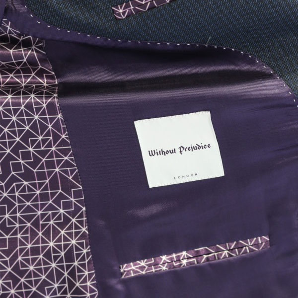 WITHOUT PREJUDICE SUIT RANDOLPH CHECK NAVY4