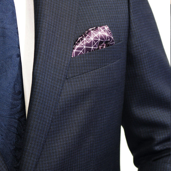 WITHOUT PREJUDICE SUIT RANDOLPH CHECK NAVY5
