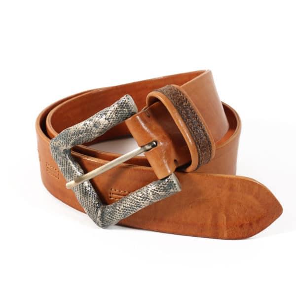 Warwicks belt light brown