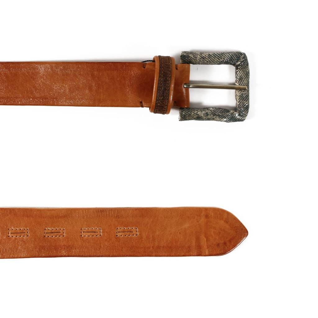 Warwicks belt light brown2