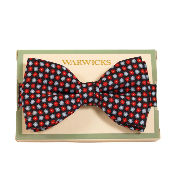 Warwicks bow tie navy 1