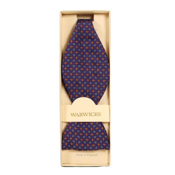 Warwicks cravat blue and red