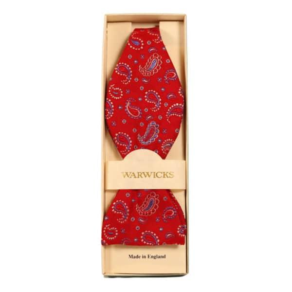 Warwicks cravat red