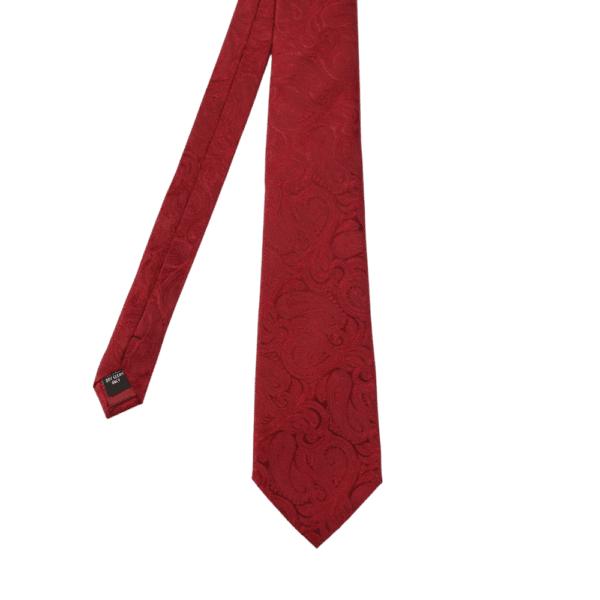 Warwicks paisley tie red main