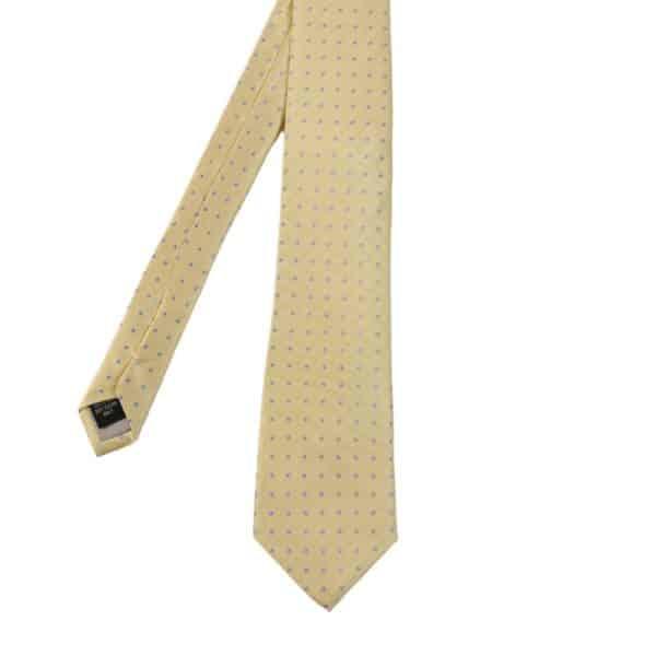 Warwicks polka dot tie yellow main