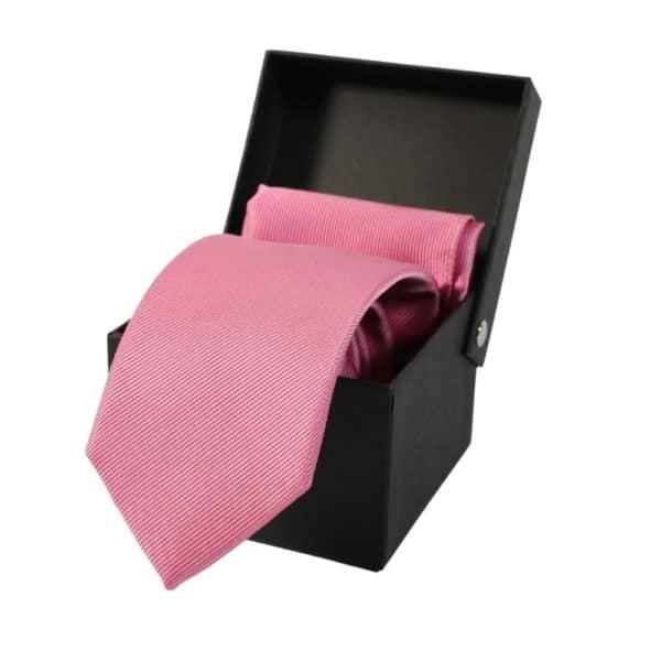 Warwicks solid Tie Box Set pink 1