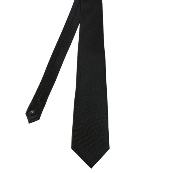 Warwicks solid texture tie black main