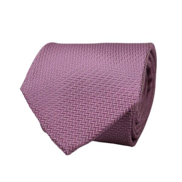 Warwicks tie diagonal pattern lilac 2