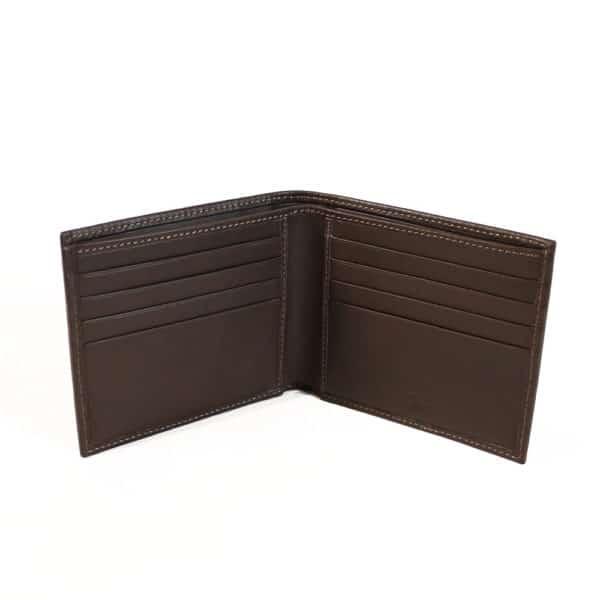 brioni wallet open