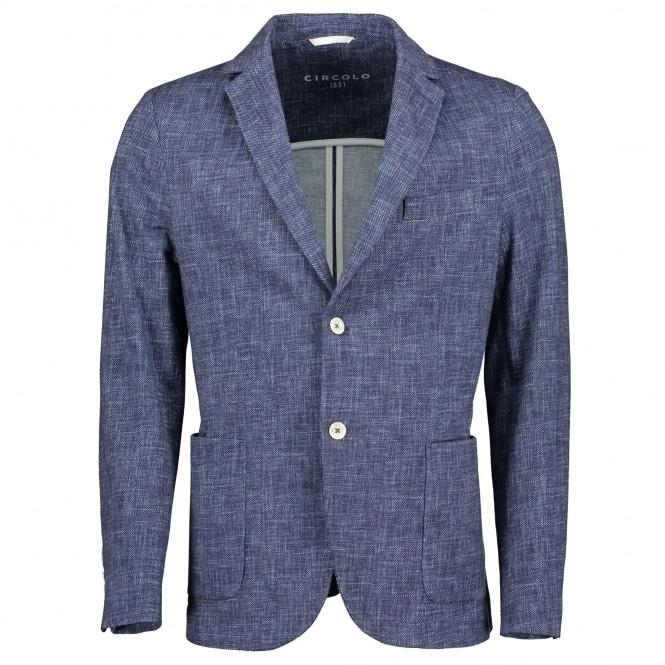 circolo giacca stretch cotton blazer p11189 348871 medium