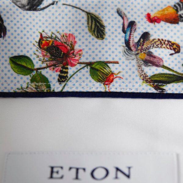 eton slim fit contrast collar shirt white p2667 2590 image