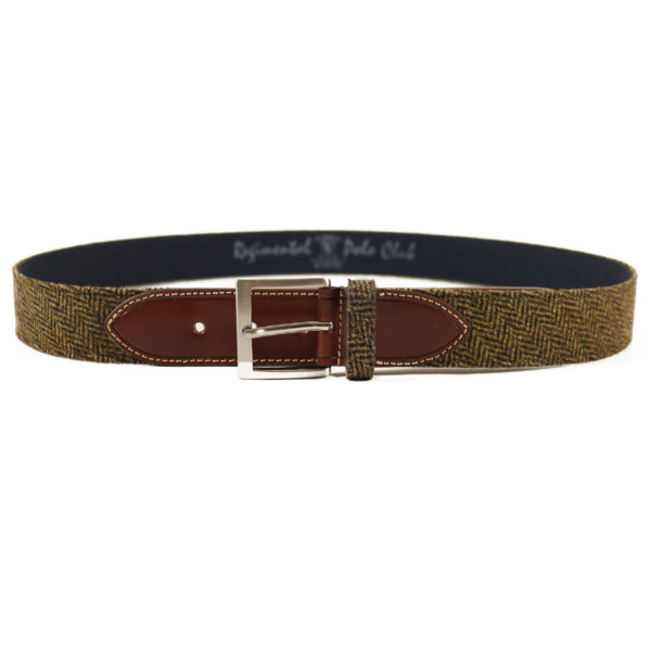 fabric and leather belt2