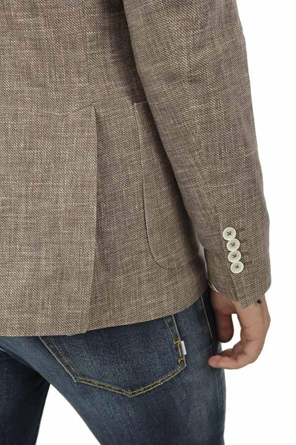 giacca circolo con tasche a toppa 1