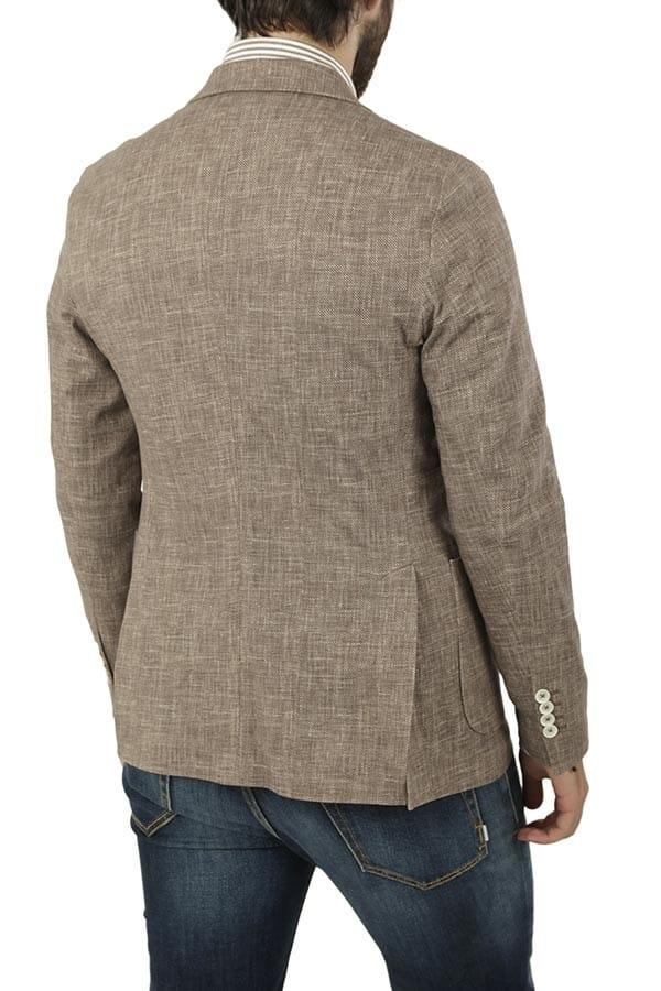 giacca circolo con tasche a toppa 2