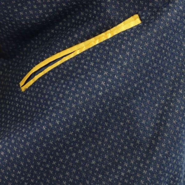 manuel ritz navy blazer inner lining