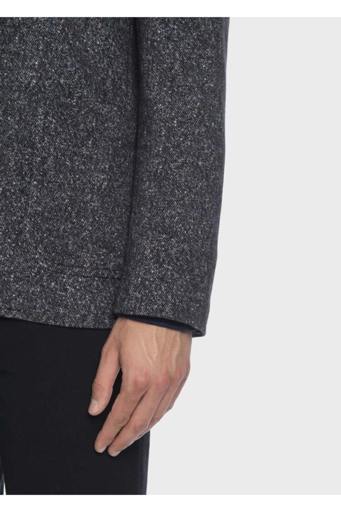 mens circolo cn2069 soft touch tweed jacket blue p4940 19019 image