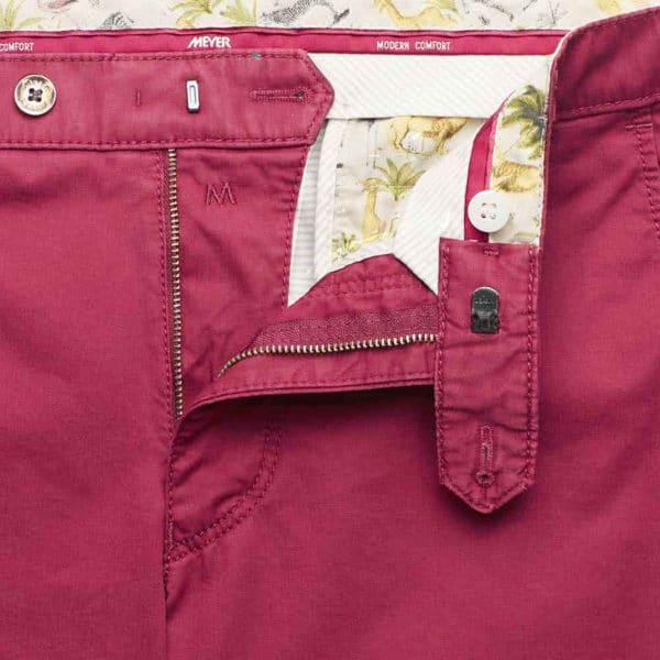meyer trouser bonn red inside