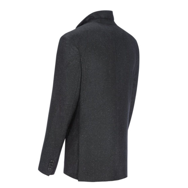 roy robson stylish blazer with a removable yoke anthracite back