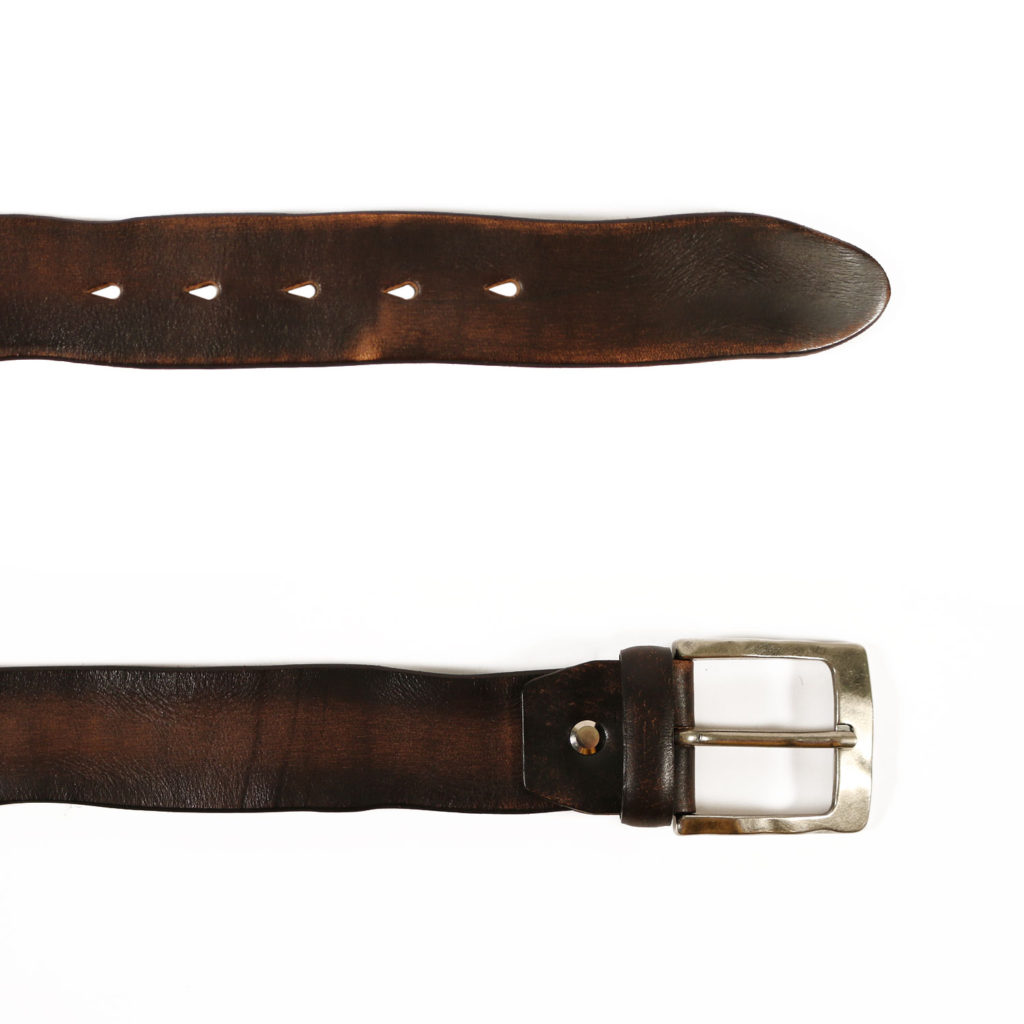 weathered leather brown belt2
