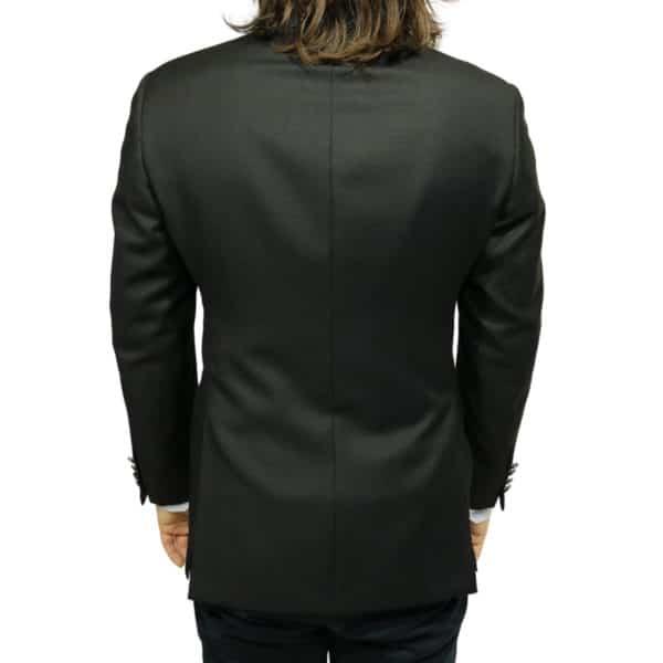 Armani 2 black blazer jacket back