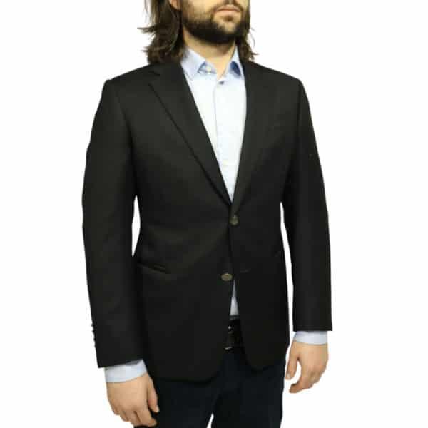Armani 2 black blazer jacket front