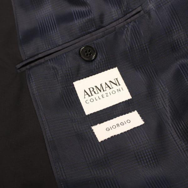 Armani Collezioni Blazer lining blue