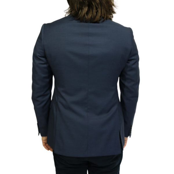 Armani Collezioni blazer jacket navy back