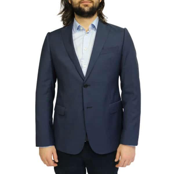 Armani Collezioni blazer jacket navy front