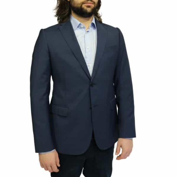 Armani Collezioni blazer jacket navy side