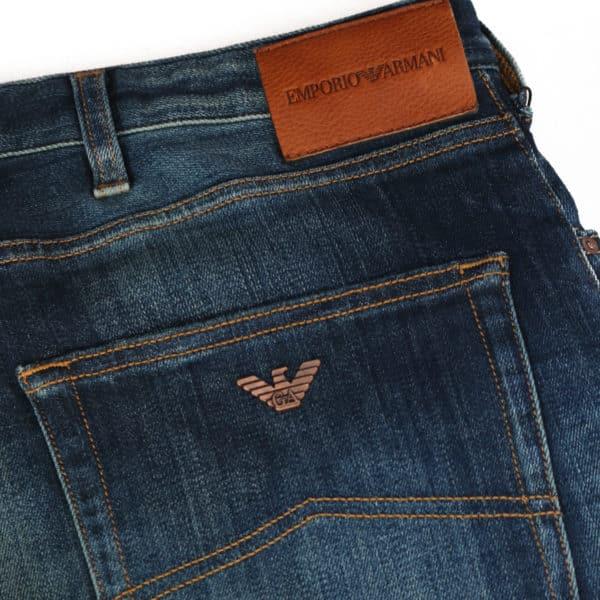 Armani Jeans J45 slim fit back label