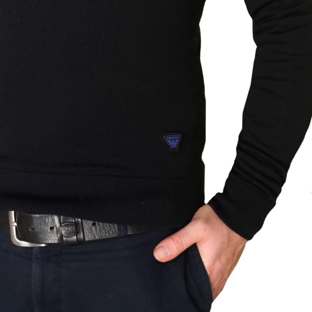 Armani jeans v neck jumper2