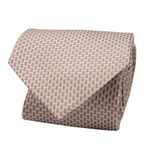 Armani tie silver rectangles 1