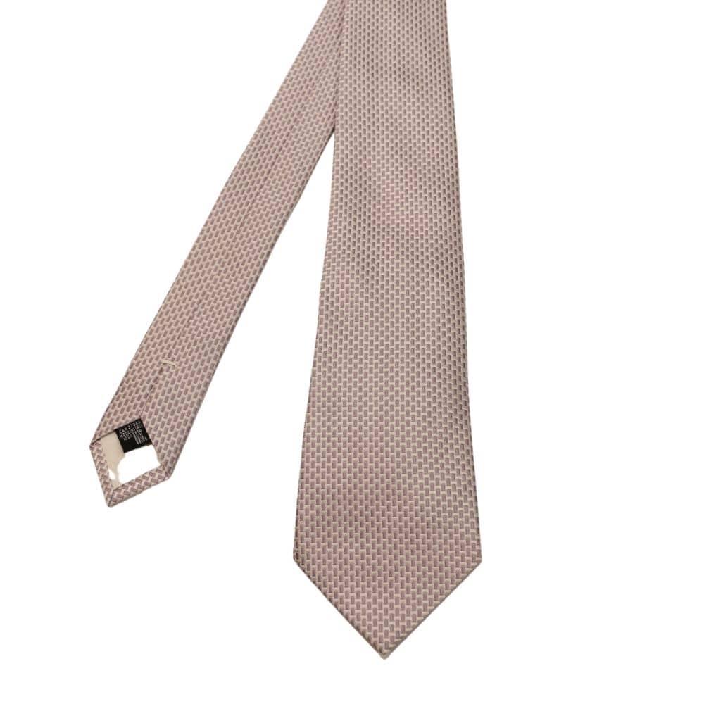 Armani tie silver rectangles 2