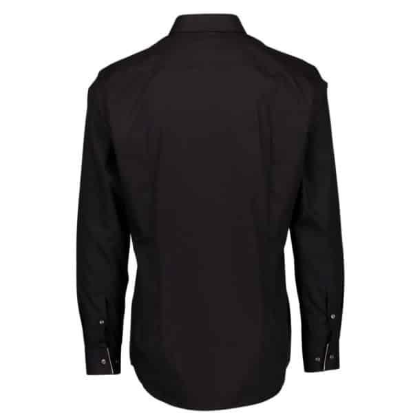 BOSS BOSS JIVAN Dress SHIRT IN BLACK Back