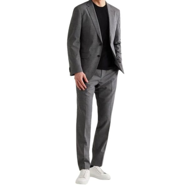 BOSS DOGTOOTH SUIT 3