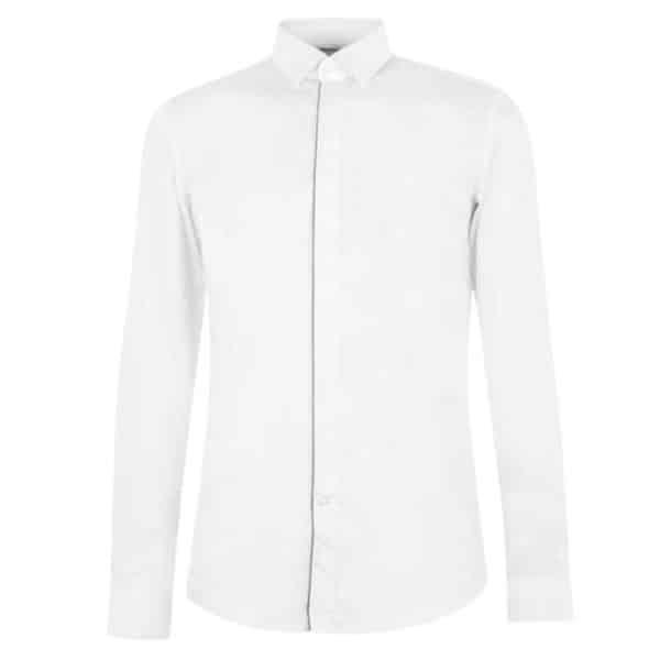 BOSS Dress SHIRT IN white front
