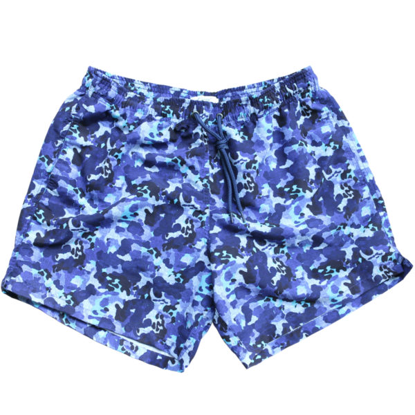 Baileys camo swim shorts navy