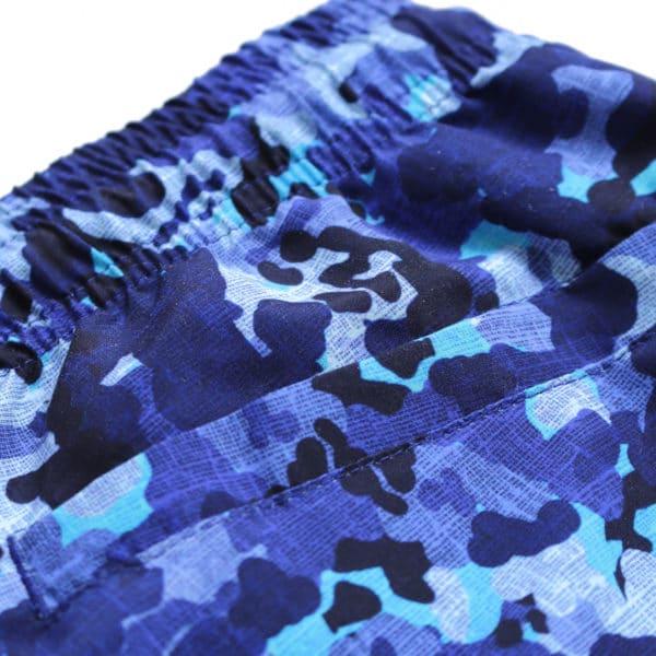 Baileys camo swim shorts navy back pocket