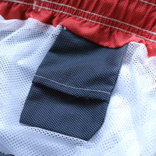 Baileys swim shorts navy detail inside pocket