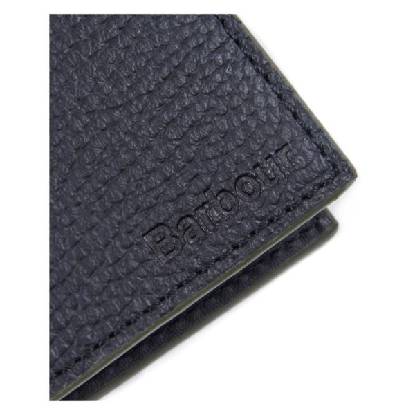 Barbour Grain Bilford Wallet side black