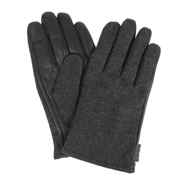 Barbour Meltham Glove Grey