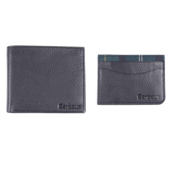 Barbour Wallet card holder set front
