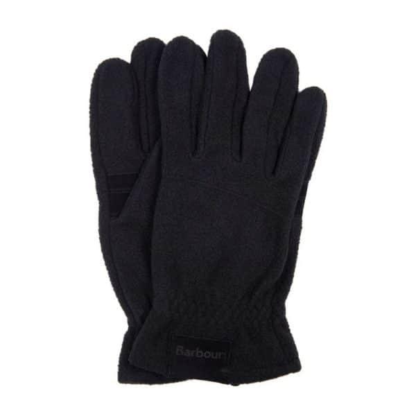 Barbour gloves fleece charcoal