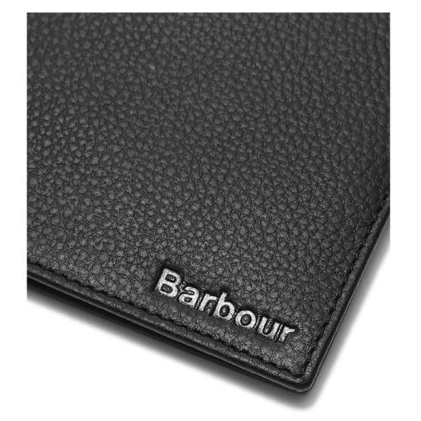 Barbour wallet card holder edge