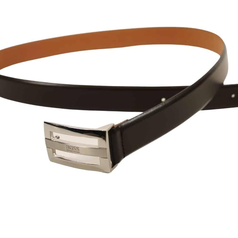 Boss Bastian Leather Belt Black 1