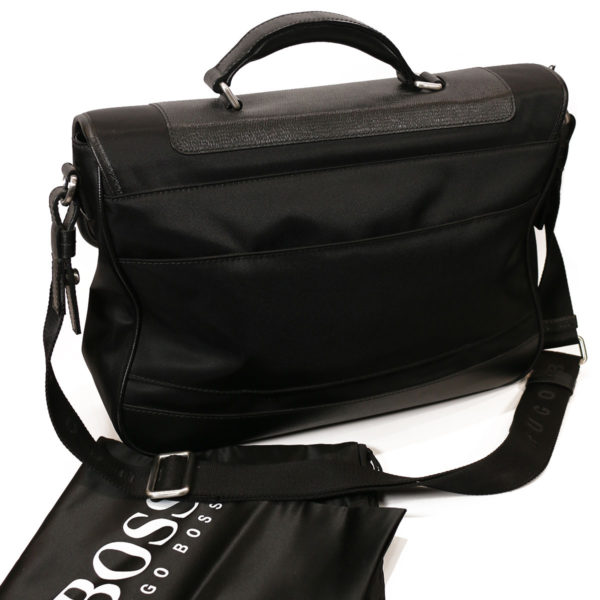 Boss Molt briefcase bag back