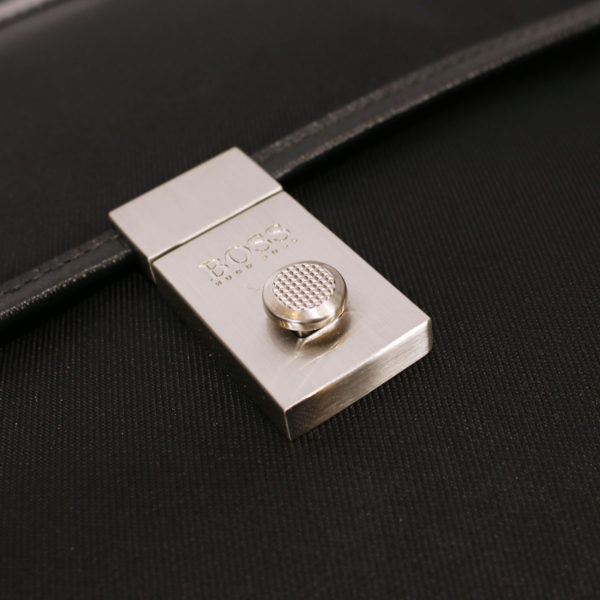 Boss Molt briefcase bag lock1