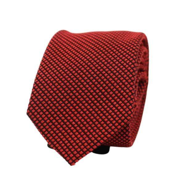 Boss Tie Red Diamonds 1